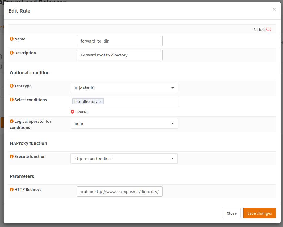 Haproxy How Tos Opnsense Wiki Documentation Documentation